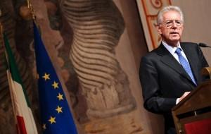 Prime Minister Mario Monti