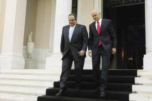 Papandreou Karamanlis maximou greece