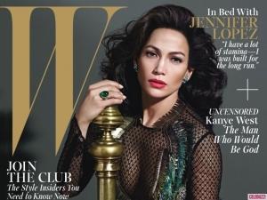 Jennifer Lopez W-mag 1