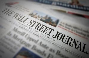 WSJ newspapers