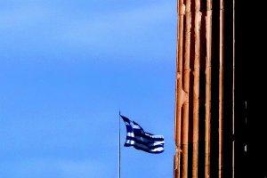 greek flag athens gr acropolis