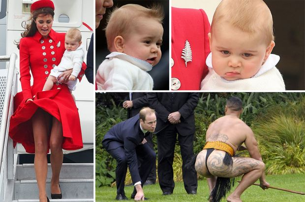 Kate-Middleton-Prince-George-and-Prince-William-in-New-Zealand