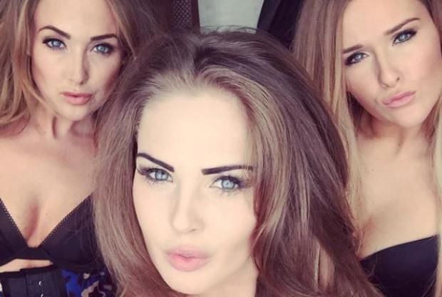 selfie sexy sisters lucy sophie stacey